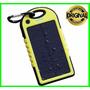 Carregador Solar Portátil Usb Com Bateria Interna 10000mah