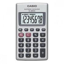 Calculadora De Bolsillo Negro, 8 Dígitos Hl-820va