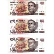 Billete De 500 Pesos Escoje