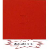 Etiqueta Sato216 Color Pastel: Azul, Amarillo, Verde, Rosa
