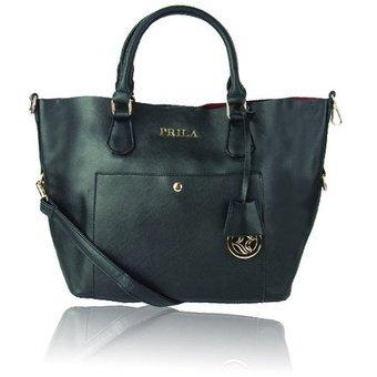 9ca309a45 Bolso Kaila Negro - Marca Prila - $ 127.960 en Mercado Libre
