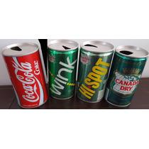 Antiguas Latas Colección Coca Cola Wink Hi Spot Canada Dry