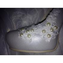 Zapatos De Novia O Quiceaños - Modelo Perlado