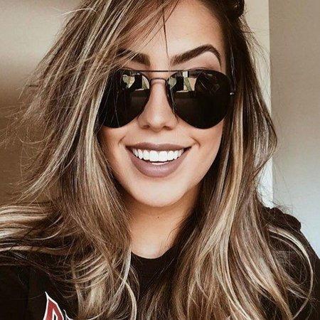 74c72451dd8e9 Óculos De Sol Aviador Feminino Masculino Preto Clássico - R  69