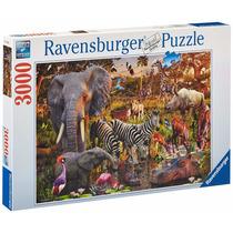 Rompecabezas Ravensburger 3000 Piezas African Animal World