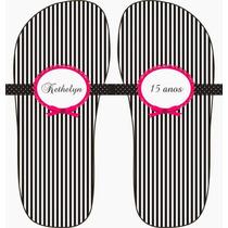 Diseño 7 Sandalias Personalizadas Bodas Xv Años Bautizos