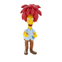 Boneco Simpsons - Sideshow Bob 15cm C/som - Multikids
