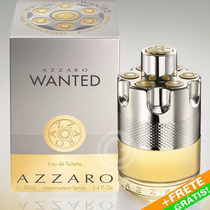 Perfume Azzaro Wanted Eau De Toillete 100ml Original + Frete
