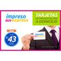 Tarjetas Personales - De Presentacion - Reparto Lima &amp; Peru<br><strong class='ch-price reputation-tooltip-price'>S/. 43<sup>00</sup></strong>
