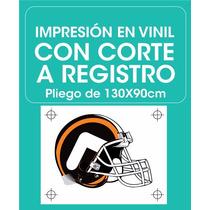 Stickers Personalizados, Impreso Corte De Vinil Calcomanias