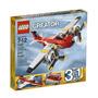 Juguetes Lego Creador Hélice Aventuras 7292 Rojo