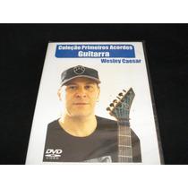 Vídeo Aula Guitarra Coleção Primeiros Acordes Wesley Caesar