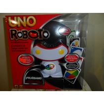 Juego De Mesa Uno Roboto Mattel