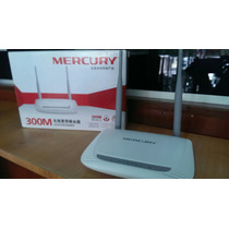 Router De 2 Antenas Mercury