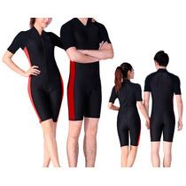 Ropa De Baño Natación Tipo Wetsuit Niños, Niñas, Adultos