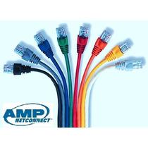 Patchcord Amp Utp 1,80 Metros Cat 6 - Rj45 Redes