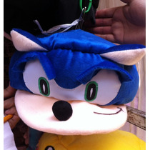 Gorra Sonic Peluche