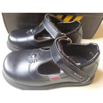 Zapatos Escolares Pocholin Niña Talla 24 Calzado Escolar