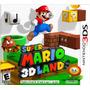 Juego Super Mario 3d Land Para Nintendo 3ds Nuevo Original