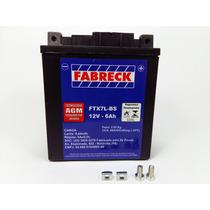 Bateria Selada Fabreck 6 Ah Kasinski Cruiser 125 Gf 125