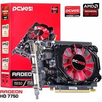Placa De Video Amd Radeon Hd 7750 2gb Oc Gddr5 128bits 4k