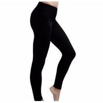 Atacado 10 Calça Leg Coton Preta Lisa Lycra+longa+barato
