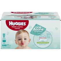 Huggies Uno Y Hecho Refrescante Toallitas Para Bebés 648 Hoj