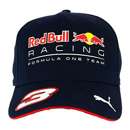 Boné Puma Aba Reta Red Bull Racing Ricciardo - Azul - R  89 d5293d66556