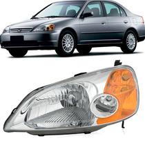 Farol Honda Civic 2001 2002 2003 Elétrico - Tyc Le