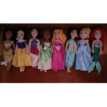 Kit 4 Princesas Disney Em Pelucia. Originais Disney