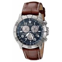 Reloj Citizen Bl5250-02l Caja De Titanio Con Correa De Cuero