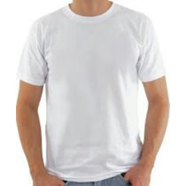 5 Camisetas Lisa Masculina 100% Algodão Vários Tamanhos