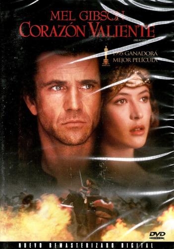 Dvd corazon valiente braveheart 1995 mel gibson Corazon valiente pelicula