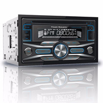 Autoestereo Power Acoustik Doble Din Pcd-42b Usb Bluetooth