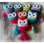 Colgantes Buhos Crochet