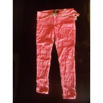 Pantalones Hwa Lace Dama De Lino E Hilo Bordado