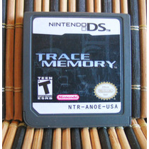Trace Memory - Nds Aventura Gráfica - Cing / Nintendo