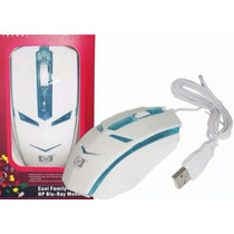 Mouse Gamer Marca Hp Y Sony Grande Optico Usb Con Luces Pc