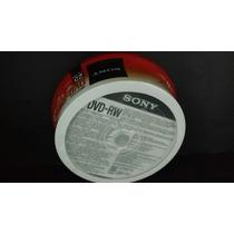 Dvd-rw Sony Disco Regrabable 25 Pzas.