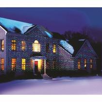 Proyector Laser De Navidad Lluvia D Estrellas Con Movimiento