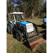 Tractor David Brown Con Retro Y Mitsubishi Con Pala