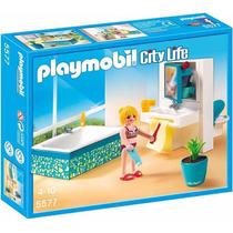 Retromex Playmobil 5577 Baño Moderno Casa Mansion Ciudad