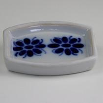 Saboneteira De Porcelana Artesanal Branca Linda Frete Grátis