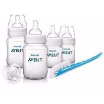 Kit De Biberones Avent Para Bebe Recien Nacido
