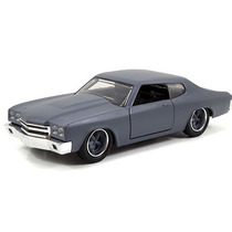 Fast And Furious Jada Chevy Chevelle Ss 1970 Primer Grey1:32