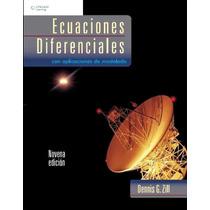 Ecuaciones Diferenciales Con Aplicaciones De Modelado-