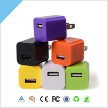 Cubo Cargador Usb Celular Tableta 1 Amp Universal Iphone