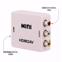 Conversor Hdmi X 3 Rca Vídeo Componente Sky Ps3 Xbox Tv Tubo
