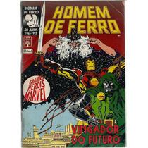 Revista Grandes Heróis Marvel 41 - Homem De Ferro