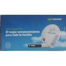 Movistar Tv, Con Antena, Decodificador Y Control